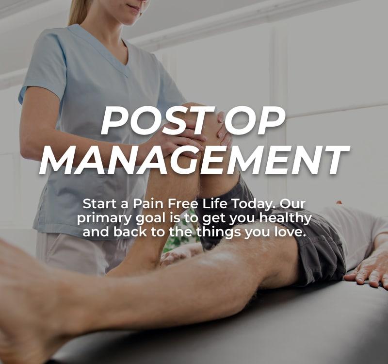Post-Op-Management