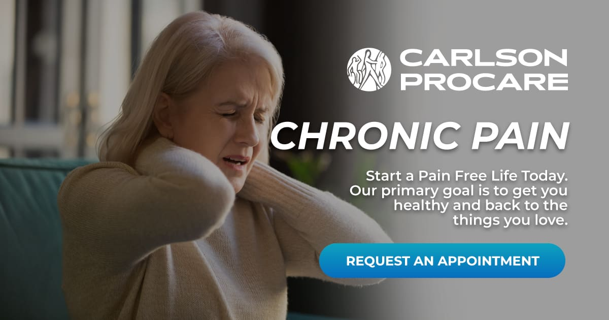 Chronic Pain - Carlson ProCare Therapy